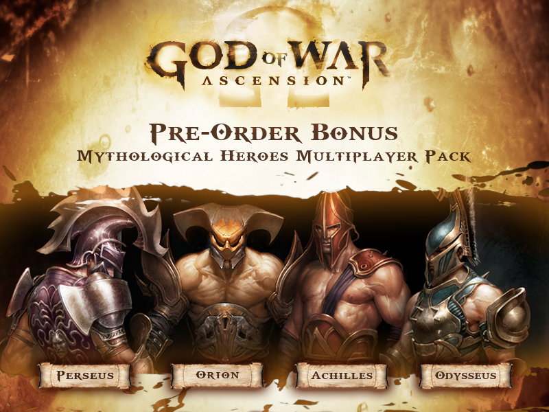 Mythological Heroes Multiplayer Pack