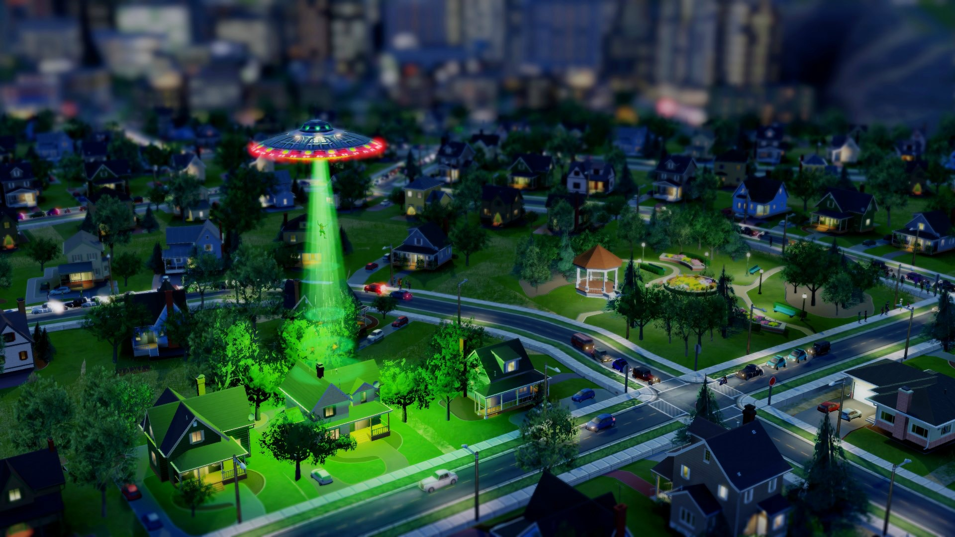 simcity disasters UFO