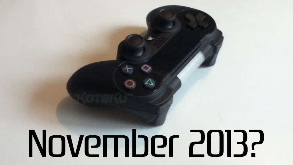 Playstation 4 november 2013
